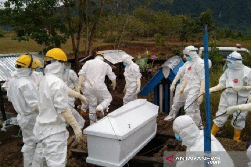 Seorang guru di Bangka meninggal akibat COVID-19 memiliki riwayat perjalanan dari Palembang