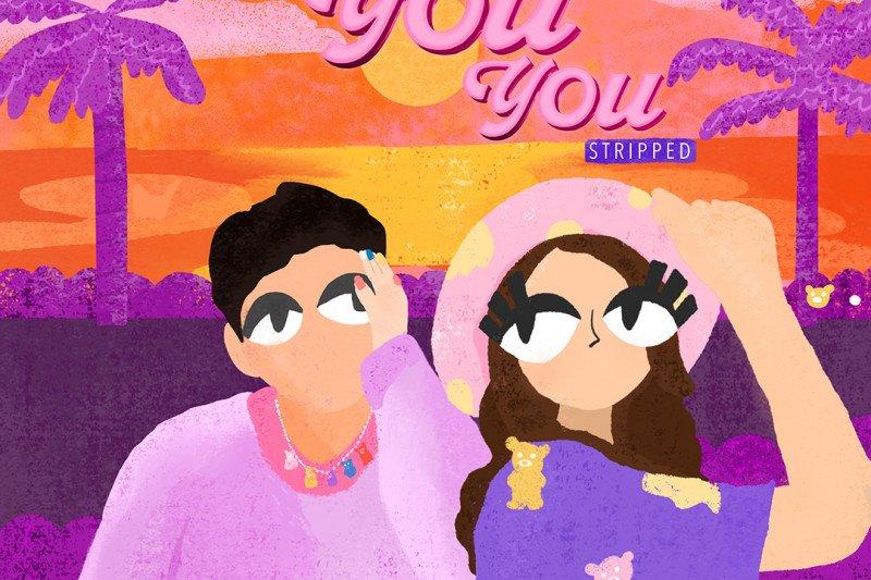 "Syahravi mengajak Amanda Caesa berkolaborasi dalam lagu ""You You You"""