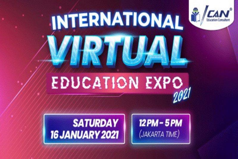 """ICAN Education Kembali Mengadakan Pameran Pendidikan """"International Virtual Education Expo 2021"""""""