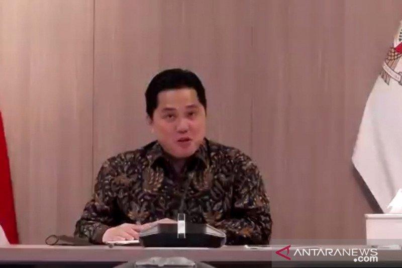 Erick Thohir : Insan BUMN kedepankan akhlak dalam bekerja