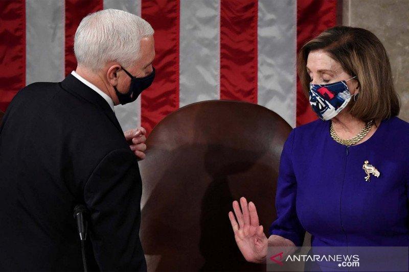 Kongres AS sahkan kemenangan Biden beberapa jam pascaserangan Capitol