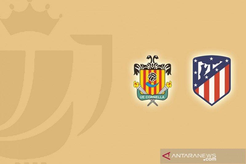 Atletico Madrid tersingkir dari Copa del Rey oleh tim strata ketiga