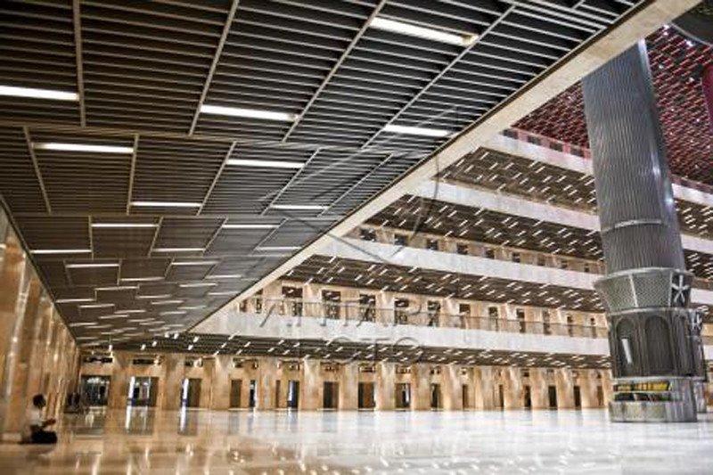 Peresmian renovasi Masjid Istiqlal