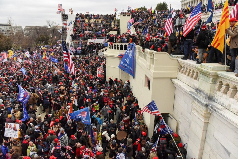 FBI peringatkan protes bersenjata jelang pelantikan Presiden AS