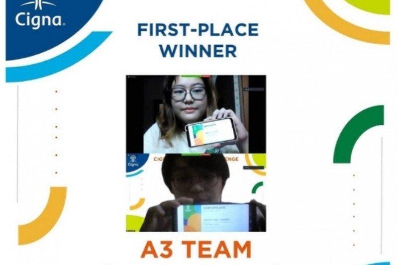 Mahasiswa FMIPA UI raih juara pertama Cigna Innovation Competition