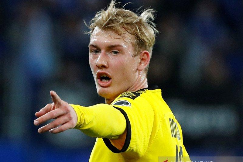 Dortmund bantah rumor Julian Brandt gabung Arsenal