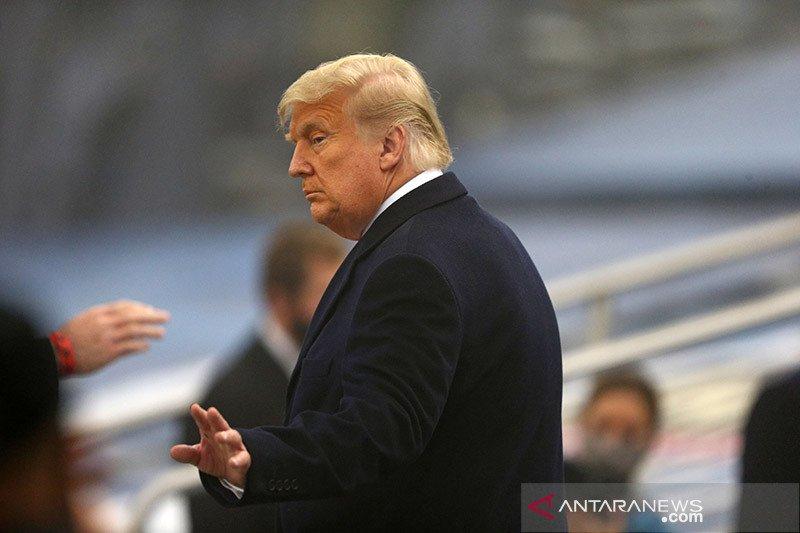 Trump: Biden jadi presiden selanjutnya usai kisruh di Capitol