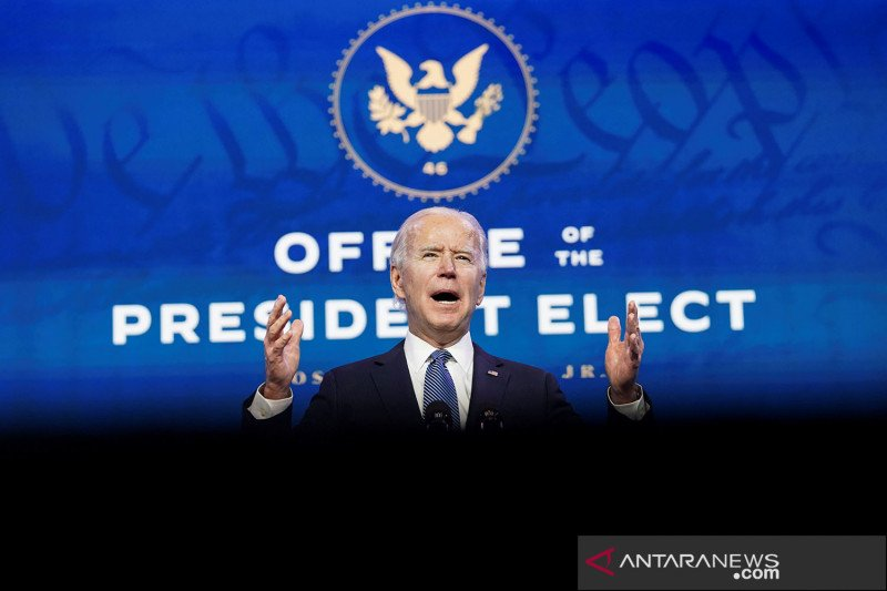 Garda Nasional akan bawa senjata saat jaga pelantikan Joe Biden sebagai Presiden AS