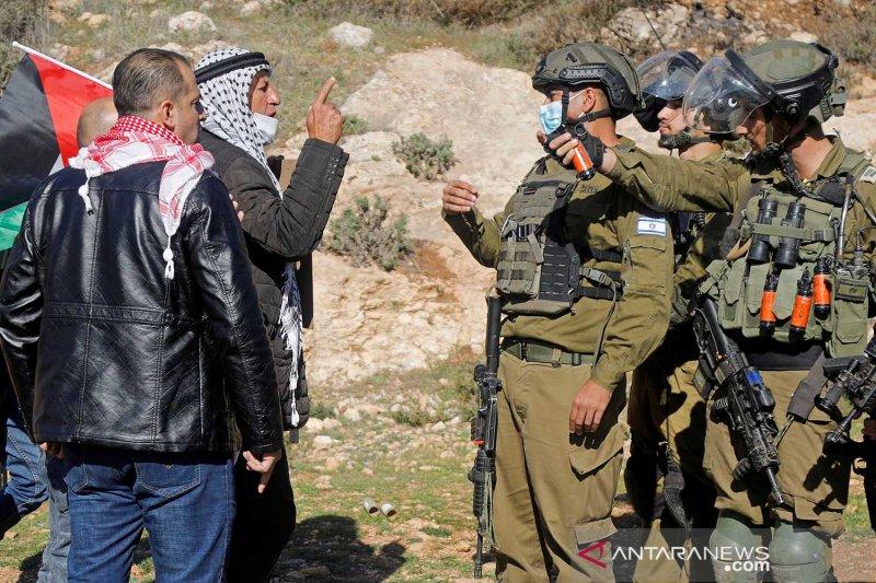 Bentrokan dengan Israel, Palestina sebut 2 petugas tewas