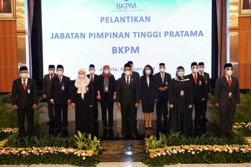 Kepala BKPM Bahlil lantik 13 pejabat pimpinan tinggi pratama BKPM