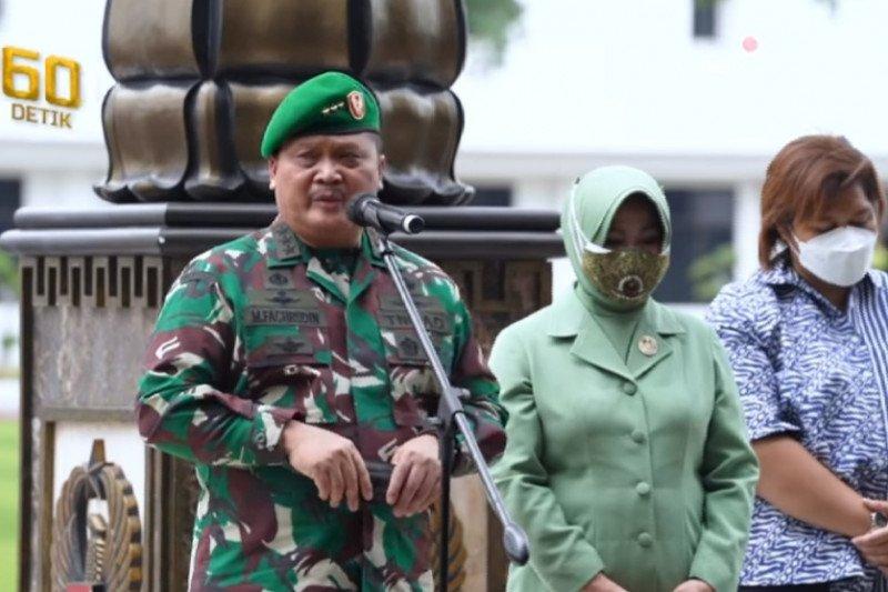 Kasad pimpin pelepasan mantan Wakasad Letjen TNI Fachrudin
