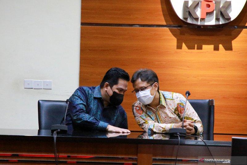 """Menteri Erick Thohir: Vaksin merah putih bisa jadi """"game changer"""""""