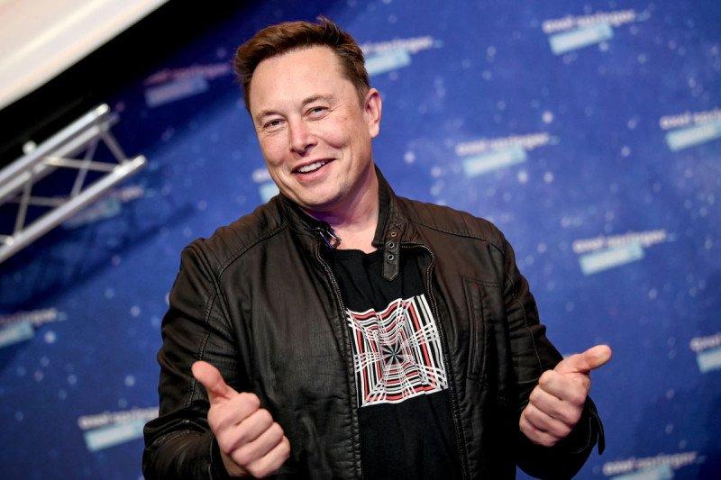 Elon Musk jadi orang terkaya di dunia, kalahkan Jeff Bezos