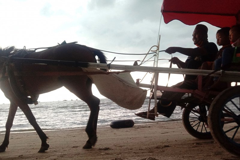 Pantai Kerang Mas tutup sementara mulai Senin