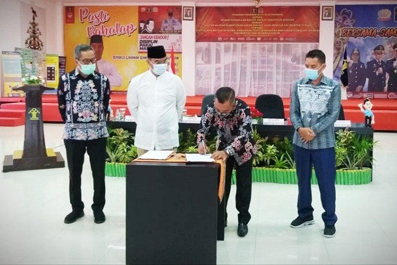 DPRD Seruyan gandeng Kemenkumham Kalteng untuk urusan ini
