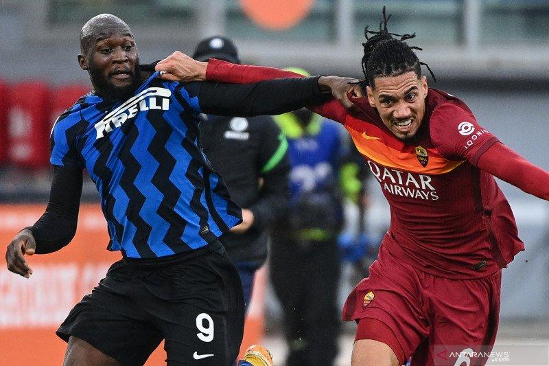 AS Roma vs Inter Milan berakhir seri