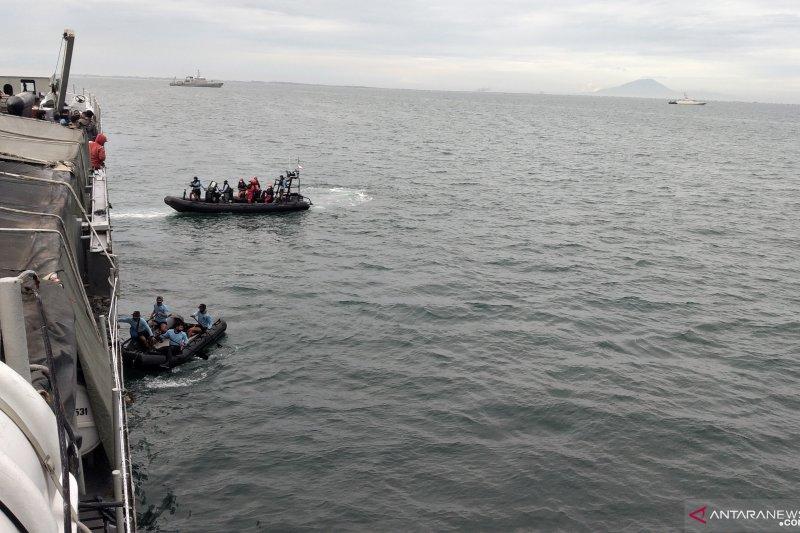 Kopaska TNI AL bagi empat tim pencari pesawat Sriwijaya Air SJ 182