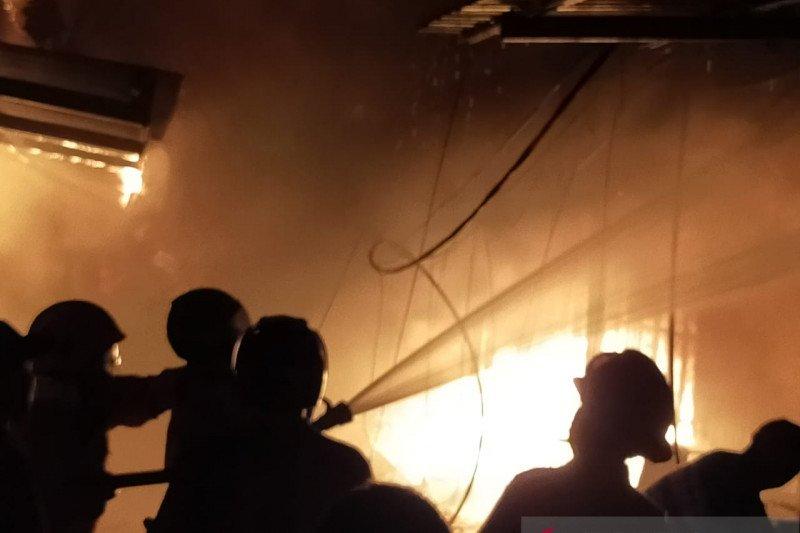 40 rumah hangus dilalap api di Nunukan