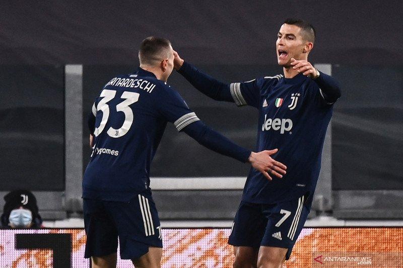 Juventus kerja keras untuk menang 3-1 atas Sassuolo