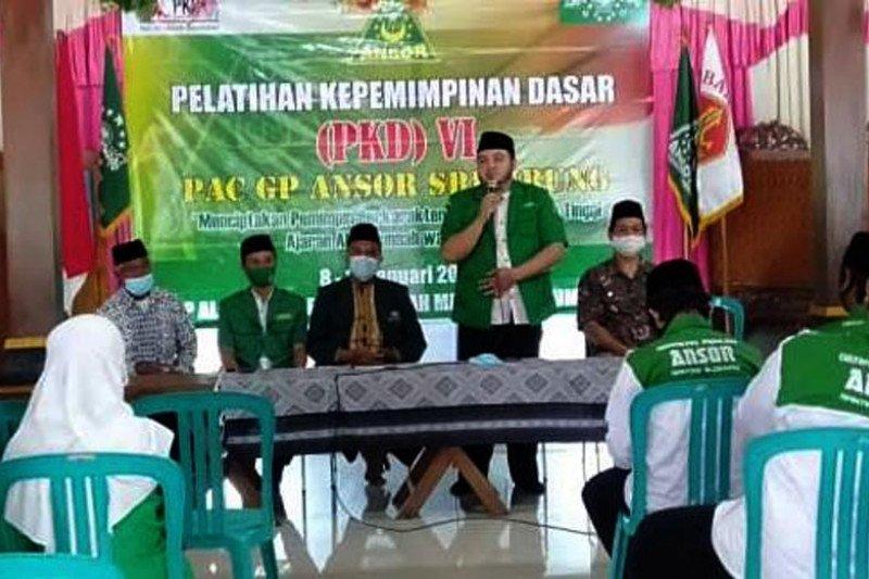 PKD Ansor membentuk kader militan NU rawat persatuan bangsa