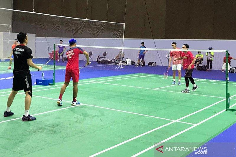 Fajar/Rian tersingkir di babak pertama Thailand Open II