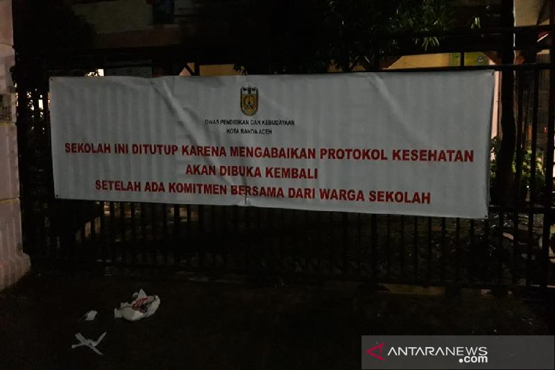 Tiga Sekolah Di Banda Aceh Ditutup Karena Abaikan Protokol Kesehatan Antara News