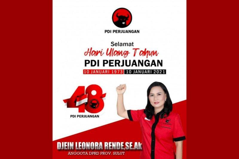 Peringati HUT PDI-P ke-48, DLR: Terus berjuang untuk kepentingan rakyat