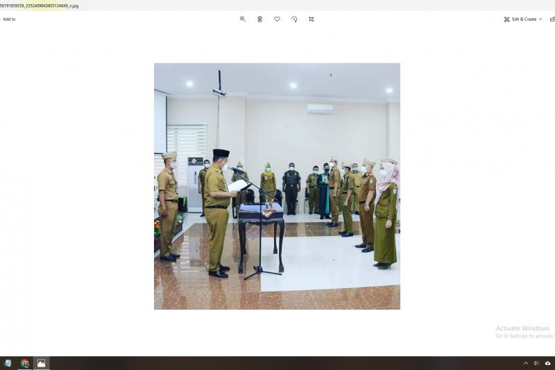 Wakil Bupati Pringsewu lantik 30 pejabat administrator dan pengawas