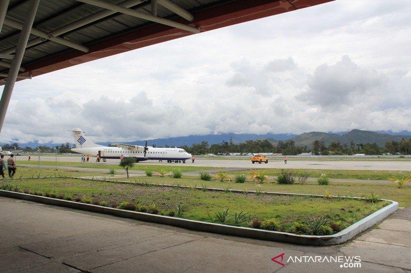 Maskapai Trigana Wamena kembali  operasikan pesawat Boeing