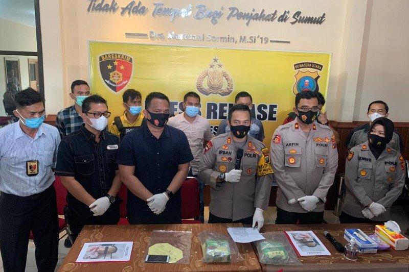 Polisi tembak mati kurir sabu-sabu asal Aceh