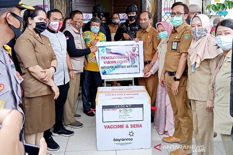 Vaksin COVID-19 tahap pertama tiba di Barito Selatan