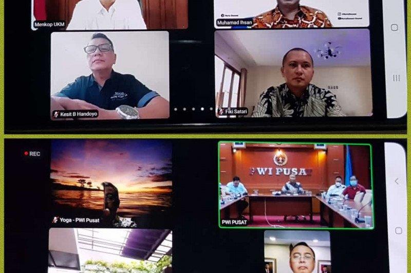 Dukung Hari Pers Nasional dilaksanakan secara virtual
