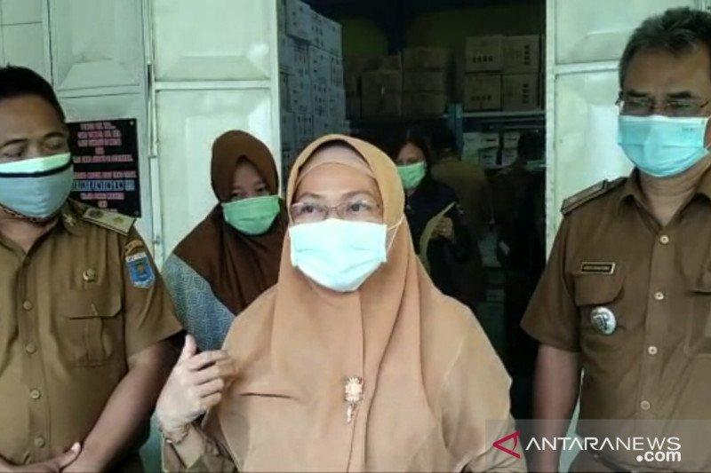 Sebanyak 2.286 vaksin Sinovac tiba di Dinkes Kota Metro, Lampung