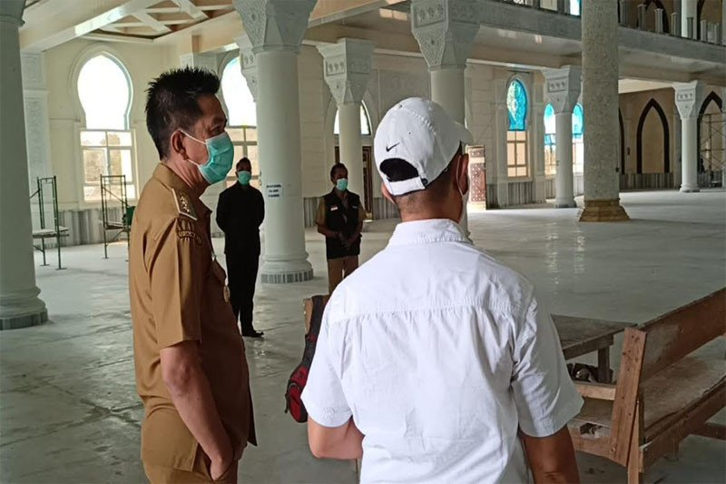Islamic Center  ditargetkan fungsional April