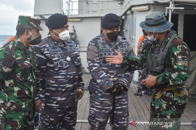 Pencarian kotak hitam Pesawat Sriwijaya mengerucut di lima titik