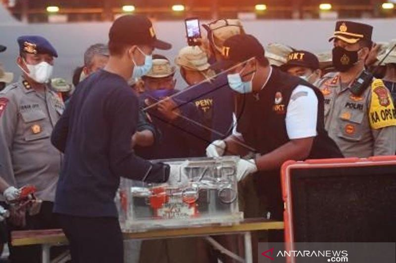 Penemuan  Flight Data Recorder Sriwijaya Air