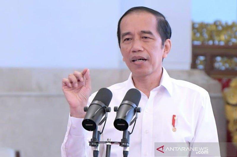 Presiden Jokowi minta aparat hukum konsisten cegah tindak pidana keuangan