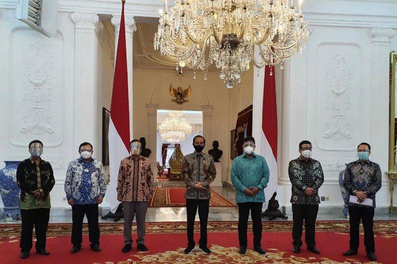 Jokowi bertemu dengan pengurus KAHMI