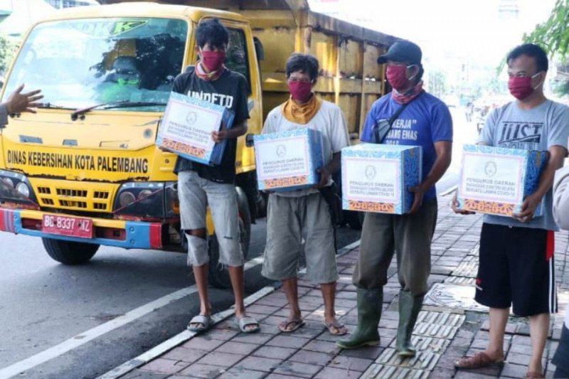 Dinas Sosial Sumsel siapkan  ratusan pendamping Bansos sembako