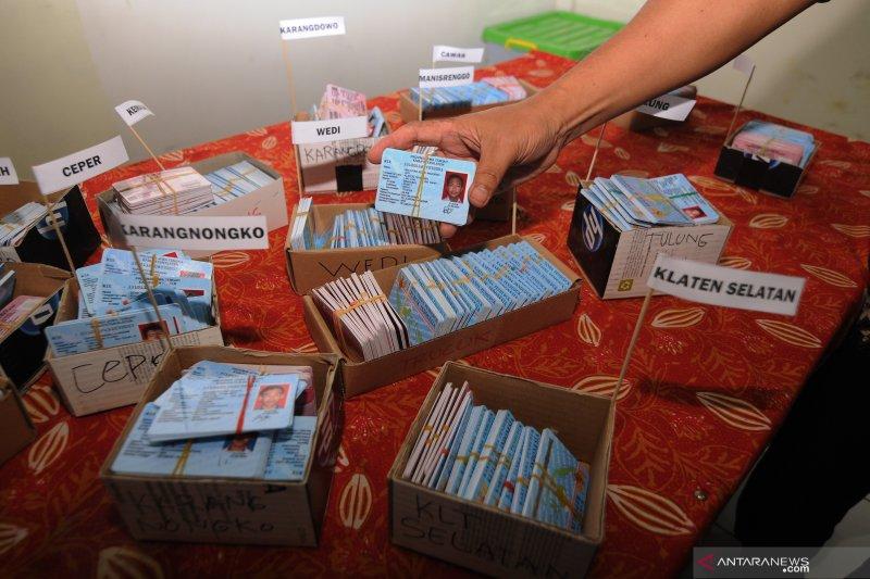 Disdukcapil OKU distribusikan 34.984  keping e-KTP