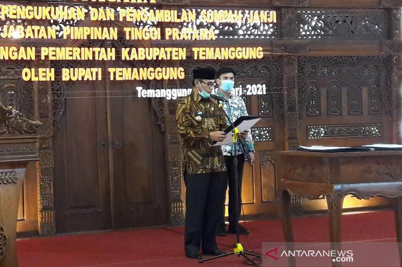 Bupati Temanggung minta petani tak ulangi kasus pengecatan cabai