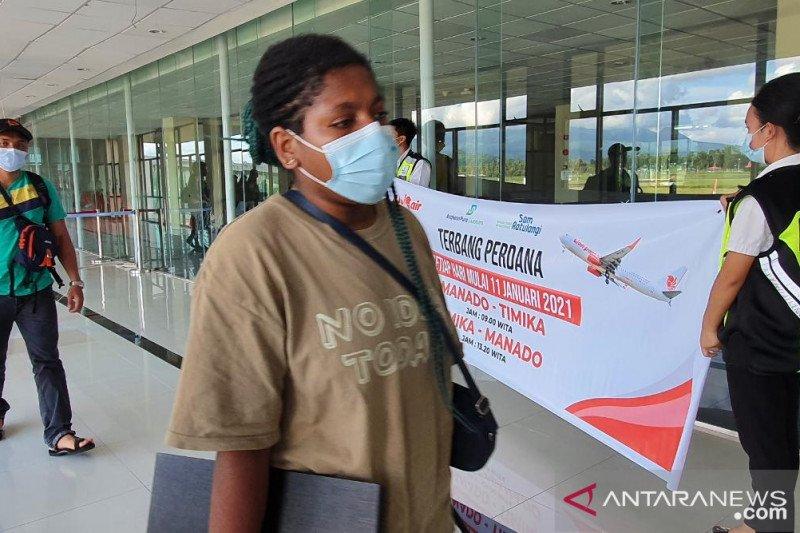 Lion Air buka rute penerbangan Manado-Timika untuk penguatan konektivitas