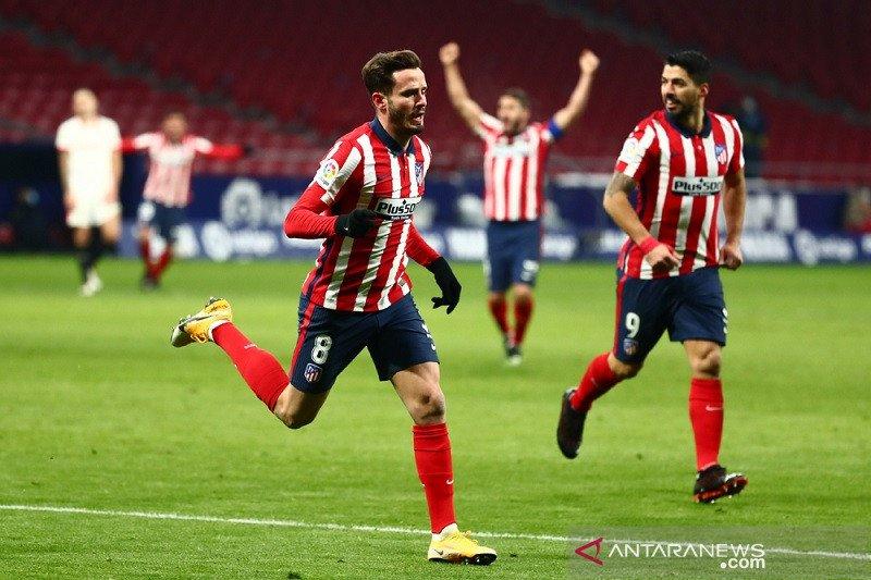 Atletico kokohkan posisi di Liga Spanyol usai menang atas Sevilla