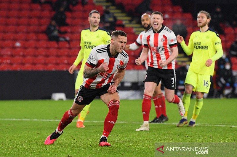 Sheffield United akhirnya raih kemenangan di Liga Inggris