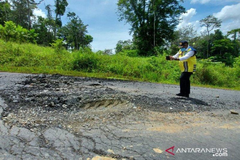 Wamen PUPR Wempi Wetipo sidak pembangunan jalan trans Papua ruas Jayapura-Wamena