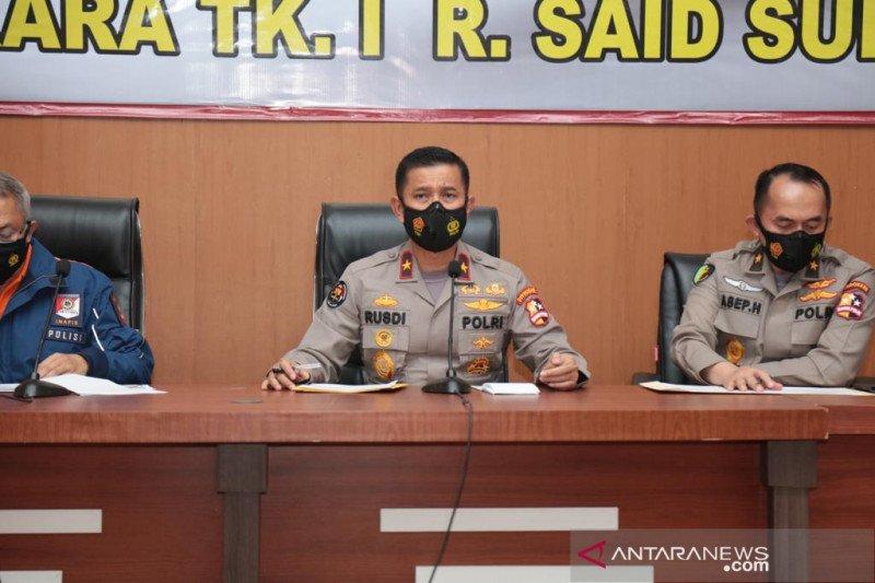 Polri: Empat jenazah korban pesawat Sriwijaya Air SJ 182 teridentifikasi
