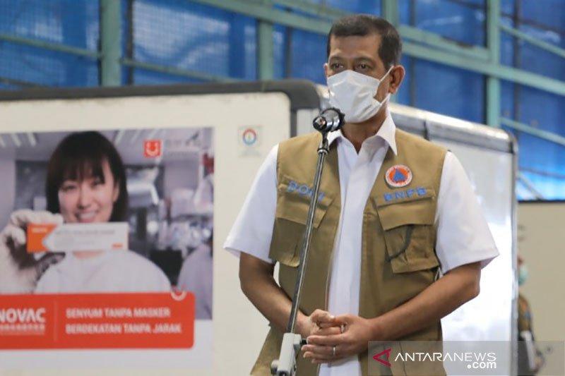 Ketua Satgas Doni Monardo belum dapat vaksin COVID-19