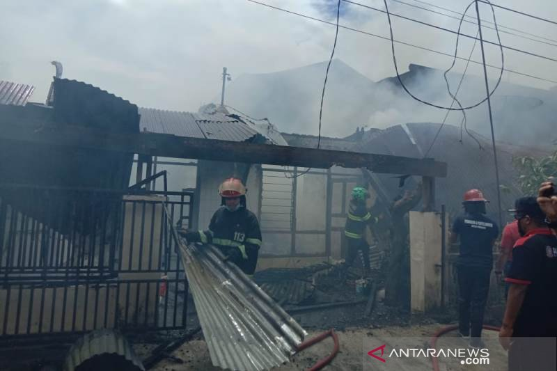 Kebakaran Rumah Di Padang