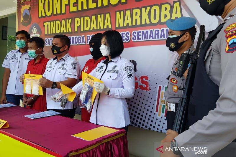 Jadi kurir sabu-sabu, siswa SMK di Semarang diringkus polisi