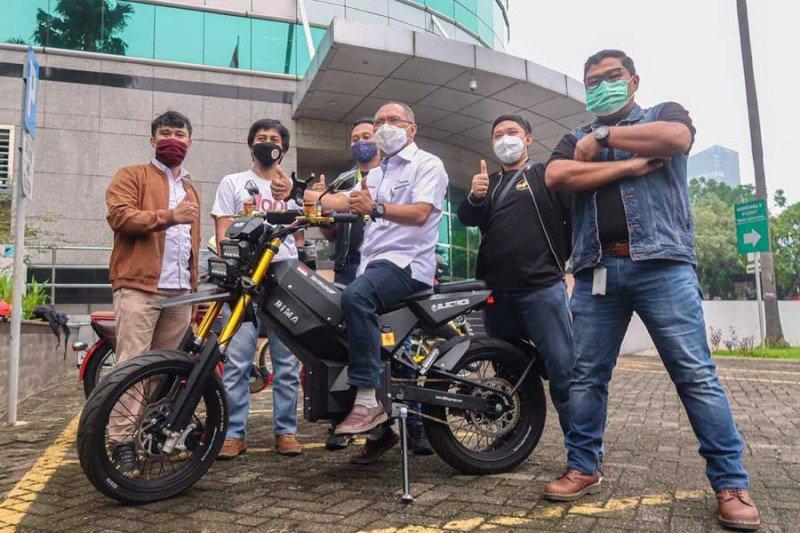"""Startup"" binaan Elnusa kenalkan sepeda motor listrik Elbike"